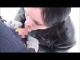 Amateurvideo Blowjob im Schnee von FeuchteLady