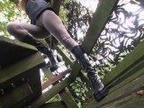 Amateurvideo Plateau Stiefel und Leggings von Fetish_Izzy